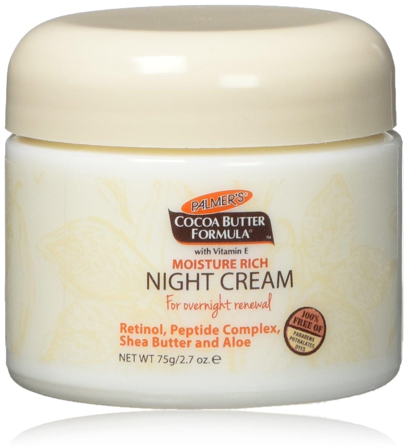 Palmer's Cocoa Butter Formula Moisture Rich Night Cream, 2.70 Oz by Palmer's