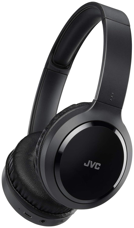JVC HA-S60BT-B-E Diadema Binaural Inalámbrico y Alámbrico Negro - Auriculares (Inalámbrico y Alámbrico, Diadema, Binaural, Circumaural, 10-22000 Hz, ...