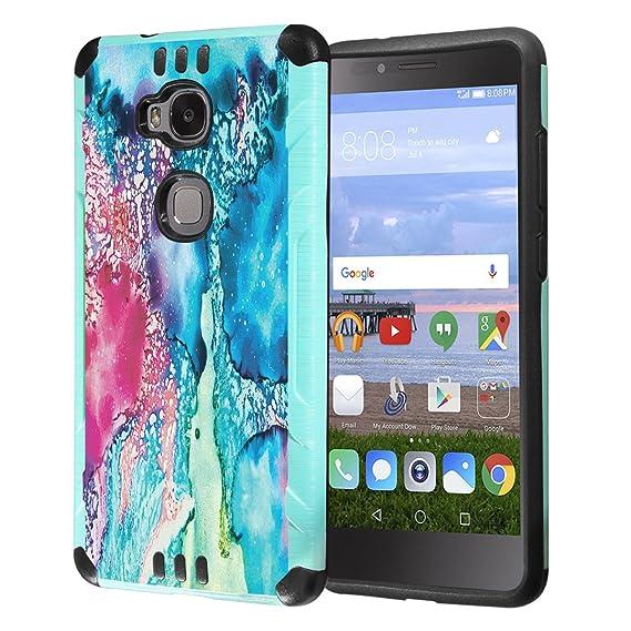 Amazon.com: Funda Huawei Sensa, Honor 5 X Funda, capsule ...