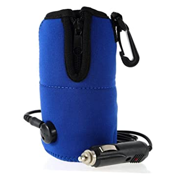 12V alimentación eléctrica leche botella de agua taza calentador calentador para Auto coche viaje bebé