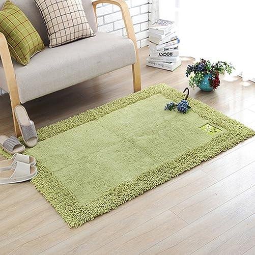 Ukeler 100 Cotton Soft Shag Chenille Area Rugs Carpet