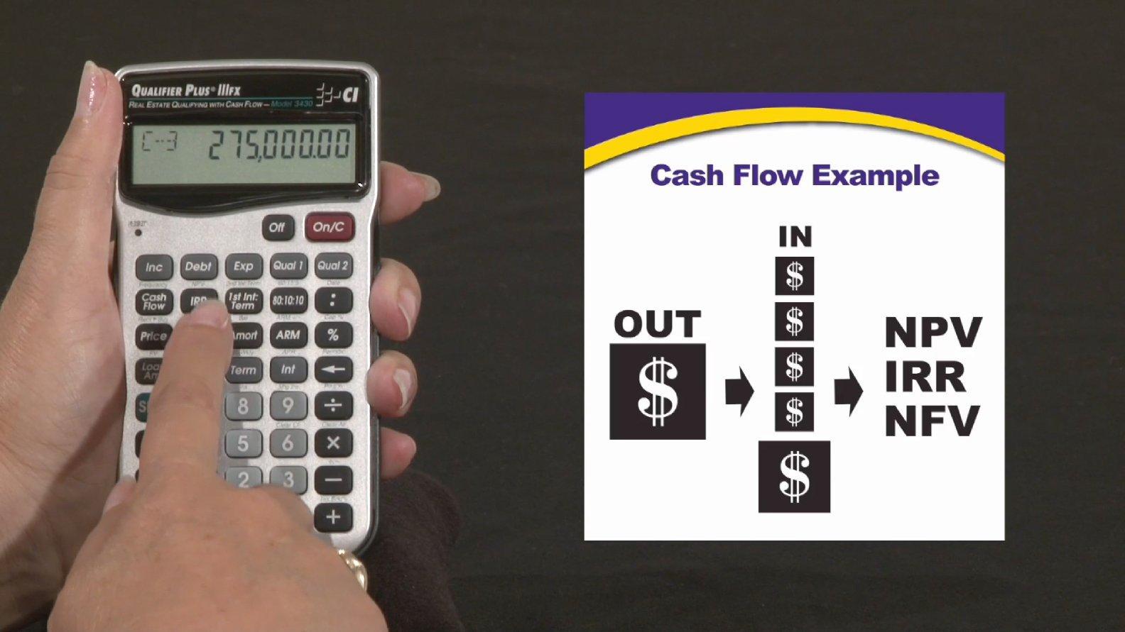 Calculated Industries 3430 Qualifier Plus IIIFX Real Estate Finance Calculator (Renewed)