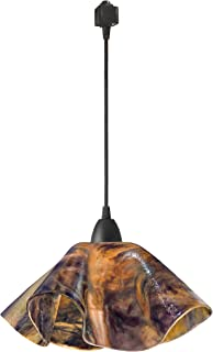 product image for Jezebel Signature JRBL-LP16-WILD-TRBL Black Lily Track Light, Large, Wild Iris