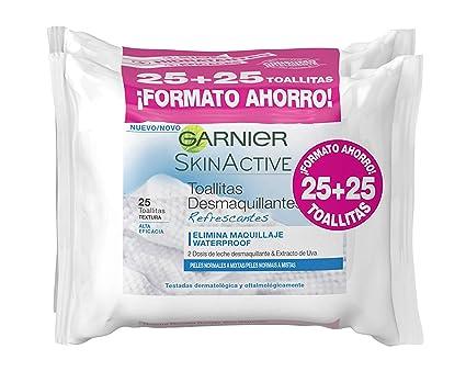 Garnier Skinactive Toallitas Desmaquillantes Refrescantes