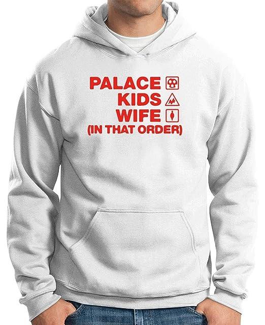 T-Shirtshock - Sudadera Hoodie WC1058 palace-kids-wife-order-tshirt design, Talla XXL: Amazon.es: Ropa y accesorios