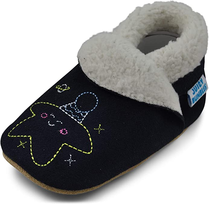 Hiwalker Chaussures Cuir Souple b/éb/é Chaussures de Poussette Enfants Chaussons B/éb/é Filles Gar/çons Premiers Pas