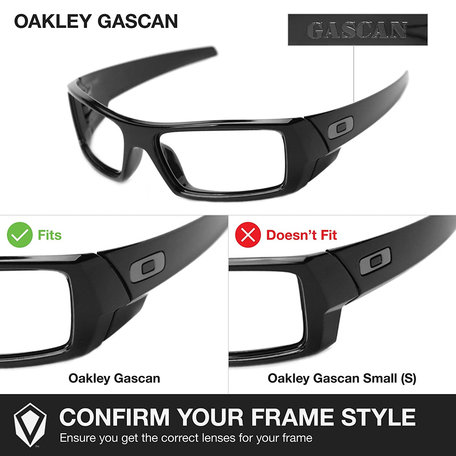 Amazon.com: Revant Replacement Lenses for Oakley Gascan 2 Pair Combo Pack  K001: Shoes