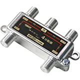 4K 8K 放送対応 BS/CS/地上デジタル アンテナ4分配器 全端子電流通型 分配器 4分配 3224MHz対応 FF-48AT4