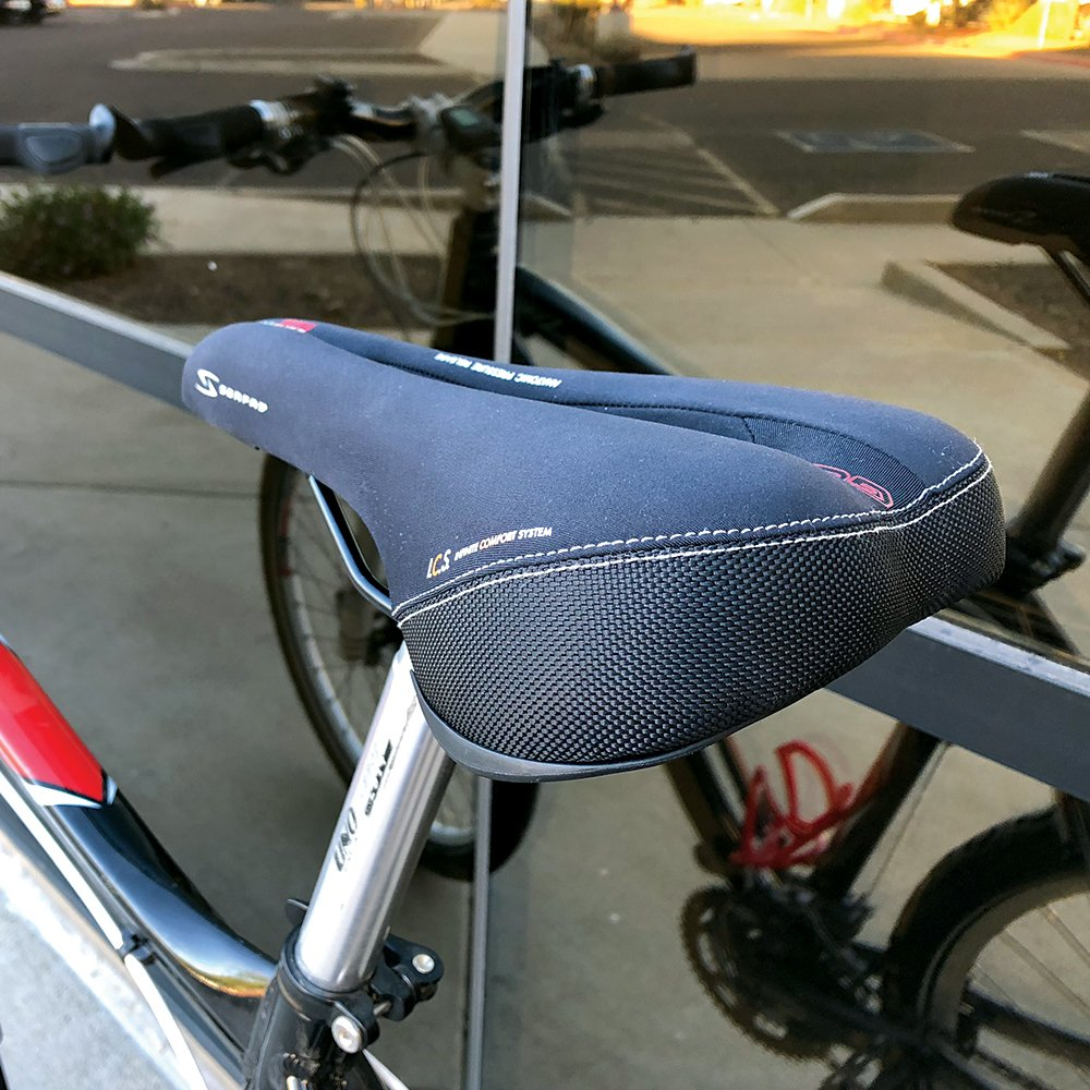 Serfas Dual Density Men's Bicycle Saddle with Cutout by Serfas (Image #10)