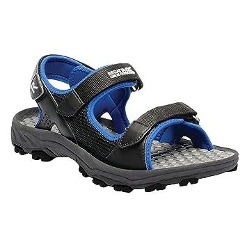 Terrarock, Mens Ankle Strap Sandals, Grey (Seal Grey), 10 UK (45 EU)Regatta