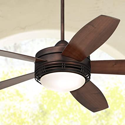 60 Casa Province Modern Outdoor Ceiling Fan With Light Remote