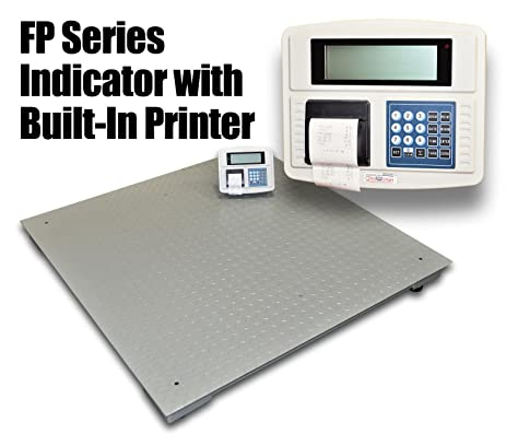 DigiWeigh 10000 Lb 48 X 48 Inches Floor Scale With Built In Printer