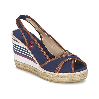 s Femme U Polo AssnUs Pour Chaussures Sandales polo QeEWdoBCxr