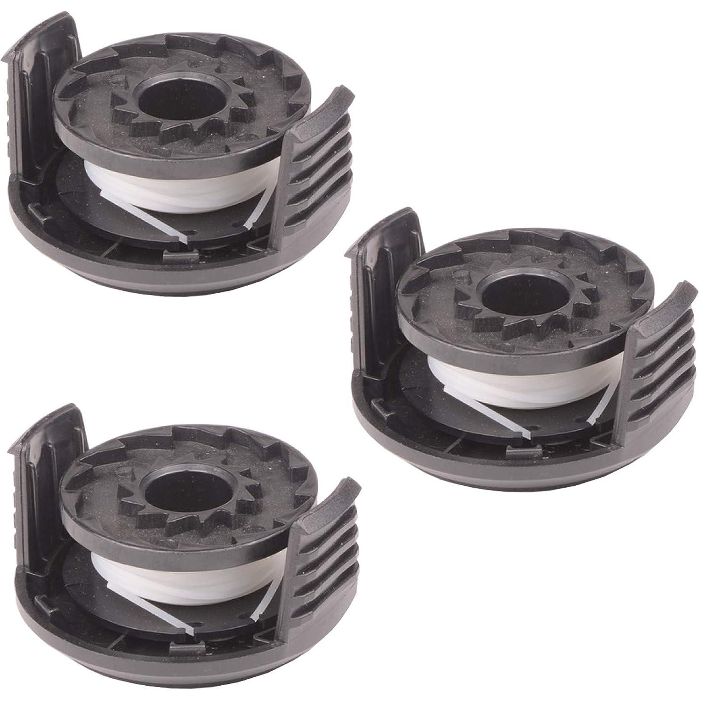 Spares2go S1825CT - Juego de 3 bobinas de hilo y cubierta para ...