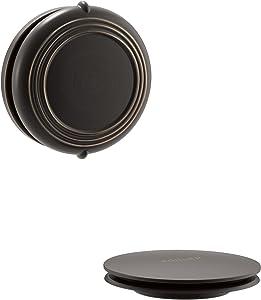 Kohler K-T37393-2BZ PureFlo Cable Bath Drain Trim with Victorian Push Button Handle, Oil Rubbed Bronze