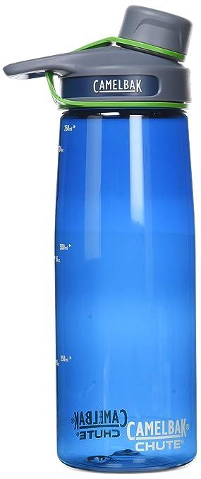 Amazon.com : CamelBak Chute Water Bottle, Bluegr, .75-Liter ... on