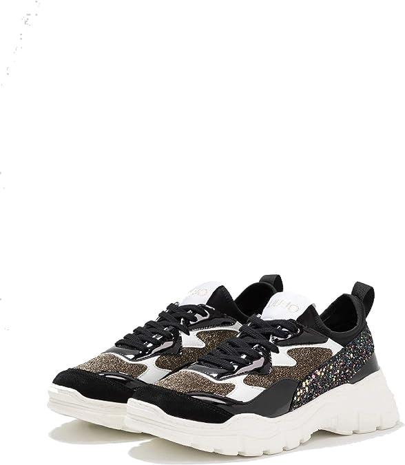 Difuminar Inapropiado fácilmente  LIU-Jo 469755TX070/00529 - Zapatillas Deportivas para Mujer y niña, Color Negro  y Multicolor: Amazon.es: Zapatos y complementos