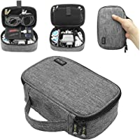 sisma Travel Electronics Organiser Carrying Case for Power Cords Power Bank Earbuds Hard Drives Memory Cards Laptop…