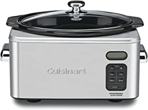 Cuisinart PSC-650 Stainless Steel 6-1/2-Quart Programmable Slow Cooker