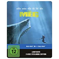 Meg 3D Steelbook (exklusiv bei Amazon.de) [Blu-ray]