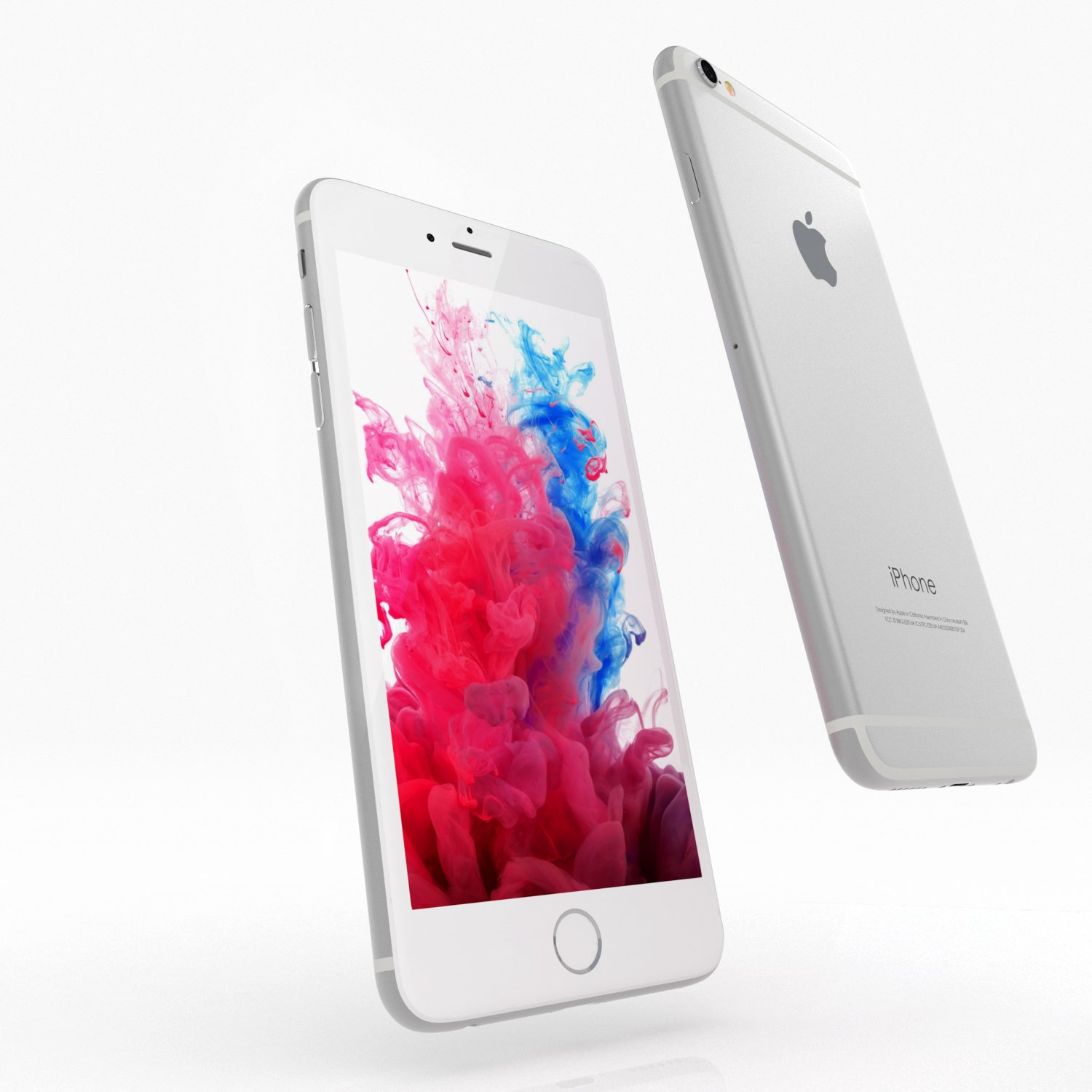 Apple Iphone 6 Fully Unlocked 16gb Silver 64gb Refrubish Free Tempered Glass Refurbished Cell Phones Accessories