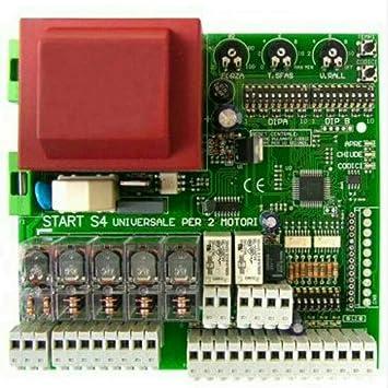 Nólogo central universal para puertas automáticas batientes de 1/2 puertas StarT-S4XL Came BFT Nice ECC, negro: Amazon.es: Bricolaje y herramientas