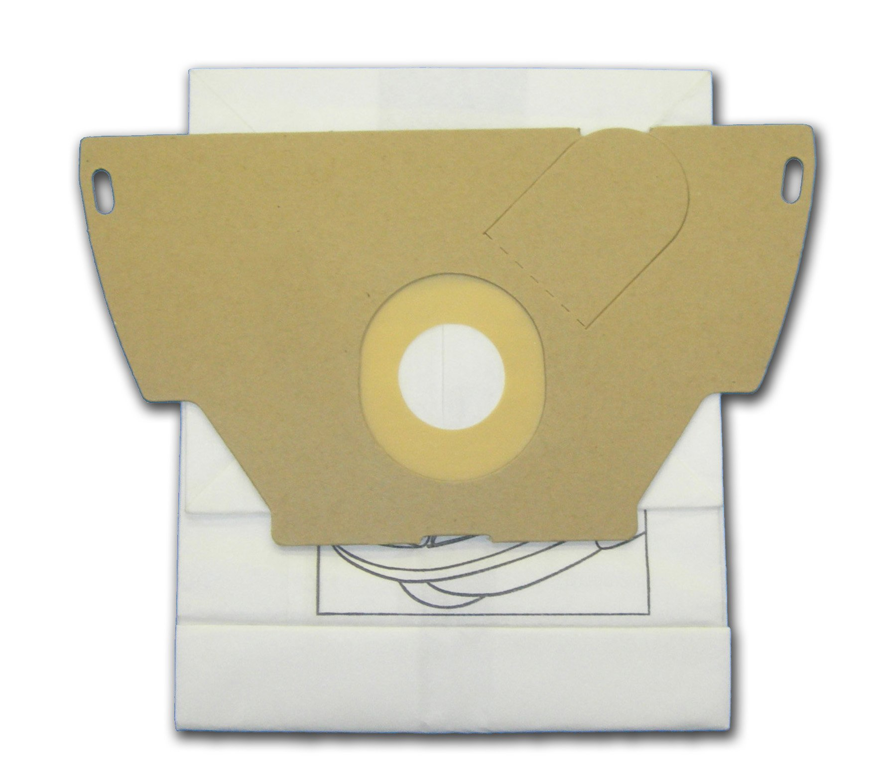 EnviroCare Replacement Vacuum Bags for GE Canisters CN-1 9 Bags