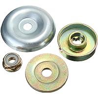 DSFSAEG Kit de fijación de tuerca de metal para caja de cambios de 4 piezas para repuesto de cubierta de cabeza de…