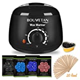 Amazon Price History for:Wax Warmer - Bouvetan Waxing Hair Removal Kit with 4 Hard Wax Beans and 20 Wax Applicator Sticks (At-home Waxing)