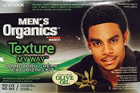 Africas Best Organic Texture My Way Kit For Men by Africas Best