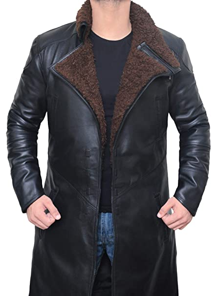 60bab3464 Blade Runner 2049 - Ryan Gosling Mens Shearling Coat Jacket | S ...