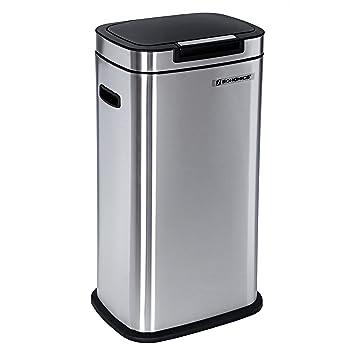 SONGMICS Abfalleimer Abfallbehälter Mülleimer für Küche 38 L ...