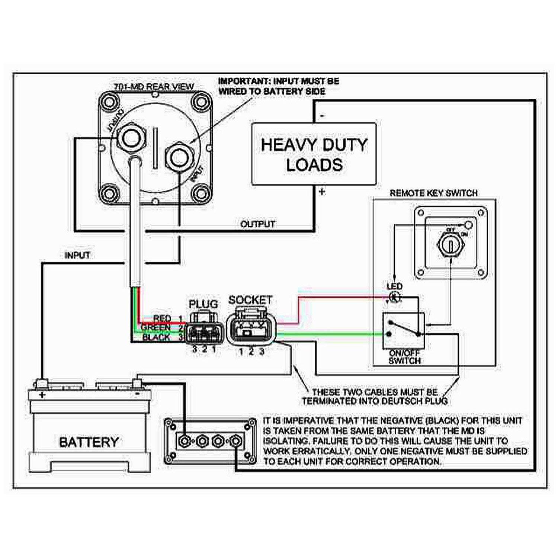 TOOGOO Commutateur Rotatif Coupe-Batterie Interrupteur Rotatif Interrupteur 12V Bateau Marin RV Bateau 12V