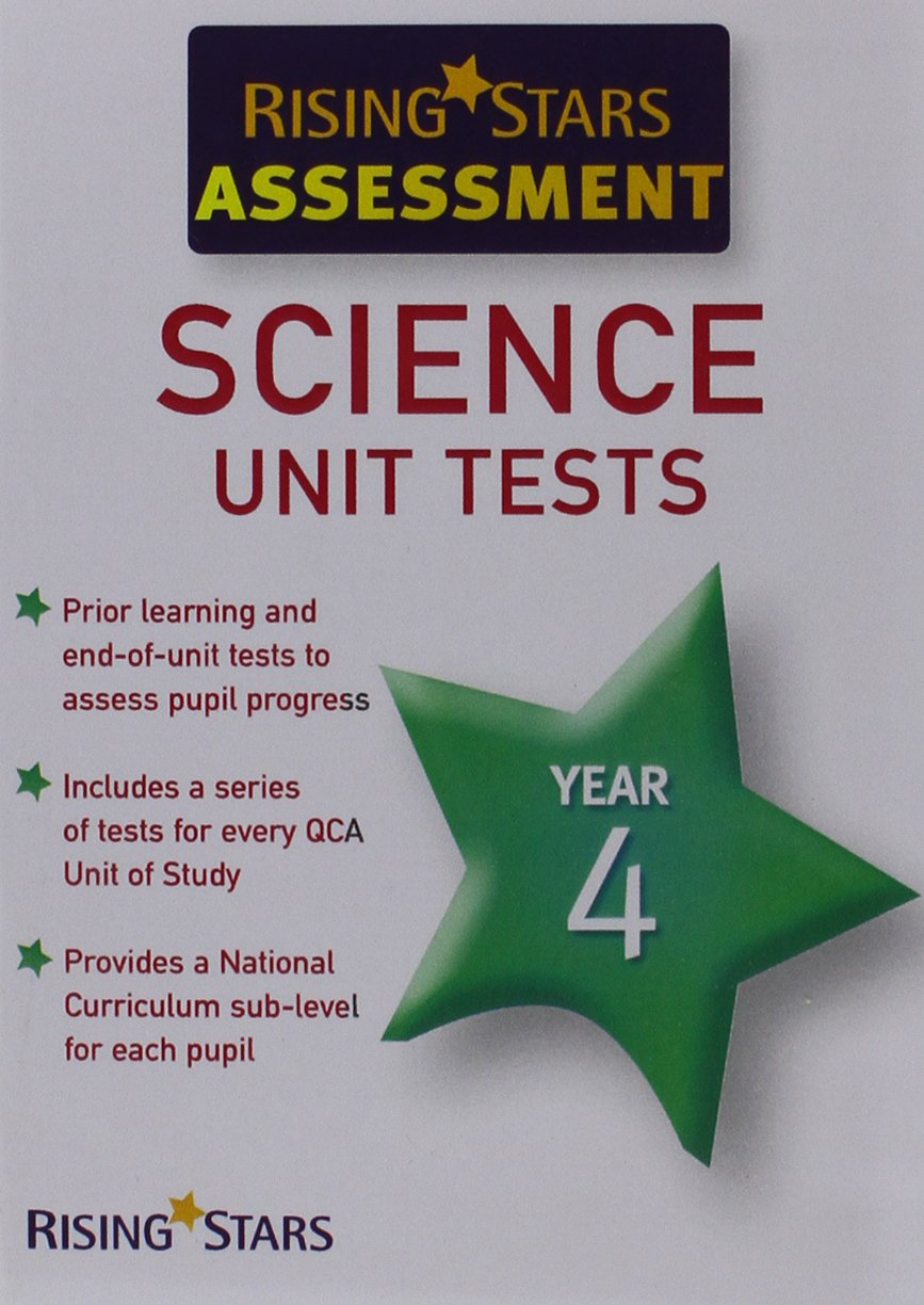 rising stars assessment science unit tests