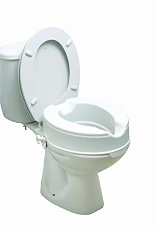 toilet seat no lid. Drive DeVilbiss Healthcare 6 Quot  Raised Toilet Seat Without Lid Amazon