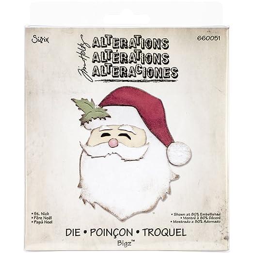 7 opinioni per Bigz Fustella- Babbo Natale di Tim Holtz