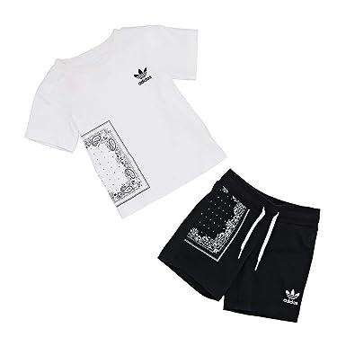 1be295f7c744 adidas Originals Bandana Tee Set Short Sleeve T-Shirt: Amazon.co.uk:  Clothing