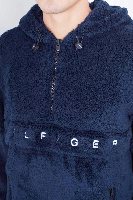 63d23a8ac511 Tommy Hilfiger Veste Teddy Marin pour Hommes L Bleu  Amazon.fr  Vêtements  et accessoires