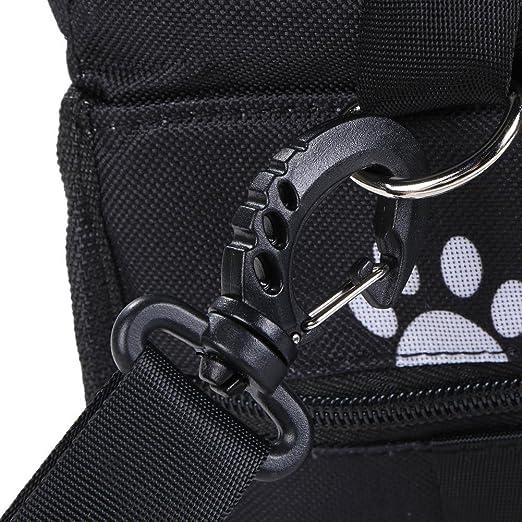 Gowind6/Dog coprisedili auto appeso borsa a rete impermeabile gatto cane cucciolo seggiolino supporto sicuro Pad Mat