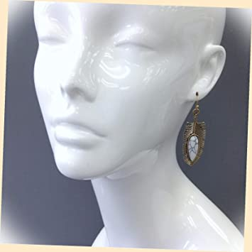 BEAUTIFUL Native Style Beaded Picture Wolf DropDangle Earrings this pair SOLD now a Special Order...will be different to be Original..