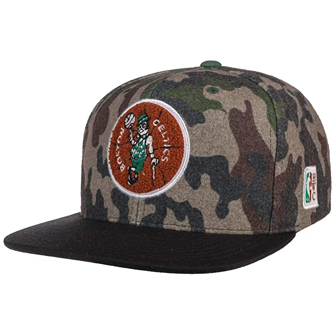 Mitchell & Ness Gorras Boston Celtics Flannel Camo/Black Snapback ...