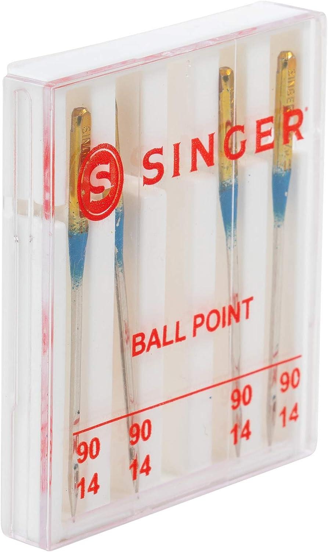 Cantante Bola Agujas de máquina de Punto, Size 14/90 4/Pkg, Size ...