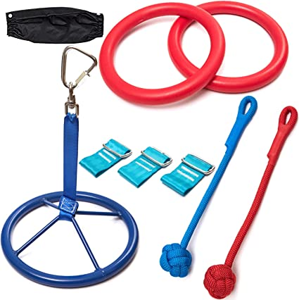 Monkey Line Expansion Pack - W/ Monkey Spinner, 2 Traverse Rings, 2 Monkey Knots, and a Ratchet Cover
