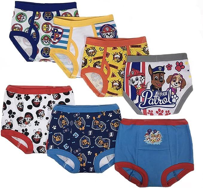 3 Pair Pack Paw Patrol Boys /& Toddlers Pants Set