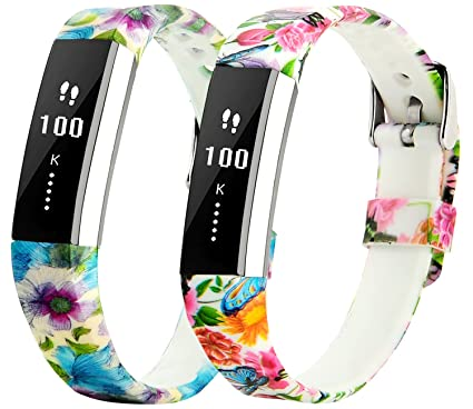 TreasureMax for Fitbit Alta HR Bands and Fitbit Alta Bands Adjustable Soft Silicone Sports Replacement Accessories Bands for Fitbit Alta HR//Fitbit Alta