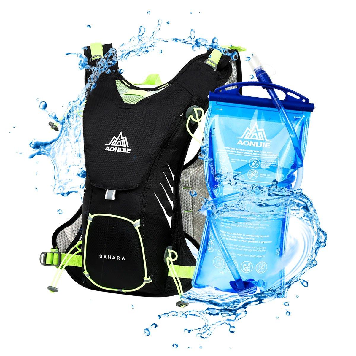 LOCAL LION Mochilas de hidratación L para Running Mochila Maratón Ciclismo al
