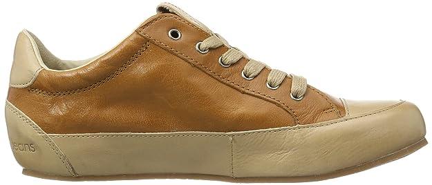 Calvin Klein Jeans NAN SHINY BUFFALO, Chaussures bateau femme - Marron - Marron (caramel), 39 EU