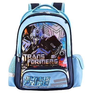 Transformers Mochila Escolar Para Niños Adolescentes Ligeros Mochilas Para Niños Y Niñas Bolsas Escolares De 6-12 Años Banda Reflectante,Transformers-33 ...