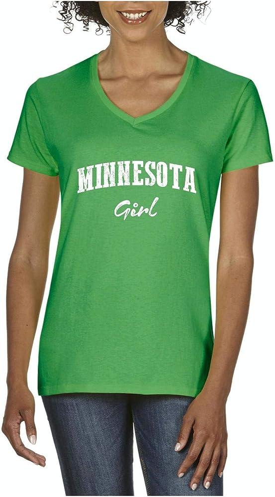 Mom S Favorite Minnesota State Flag Minnesota Girl Minneapolis Traveler S Gift T Shirt Tee