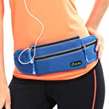 Yodo Slim-fit Light Running Fanny Pack / Waist Pouch for Cycling Gym Treadmil , Hold Iphone 5 6 7 Plus Samsung S5 S6